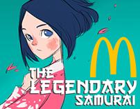 McDonald's Malaysia Samurai Burger Promo