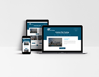 Flight Level Training, Brand Identity + Web Design