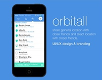 Orbitall (mobile app design)