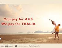 FlightShop Australia Offer Creative