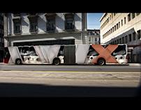 BENU Billboard optical illusion