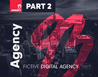 93 Agency Website FREE PSD Template - Part 2