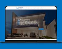 Novo Site Prime Arquitetura