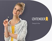 IzhTender. Site