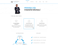Financial advisor's website