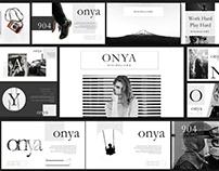 Onya Creative Minimal Keynote – Powerpoint
