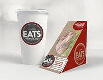 Mock Up Template: Sandwich Box & Soda Paper Cup