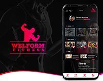 Welform Fitness Mobile App