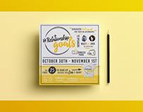 """#RelationshipGoals"" - Youth Camp Flyer Design"