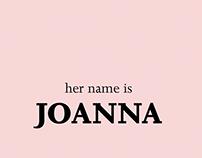 JOANNA - type specimen book
