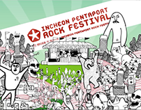 Incheon Pentaport Rock Festival 2008 Opening Clip