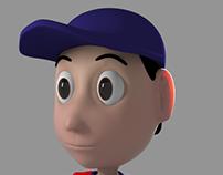 Modelagem 3D Jinho (personagem próprio)