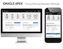 Oracle APEX Application Redesign