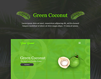 Green Coconut Design Concept