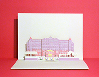 Grand Budapest Hotel POP-UP