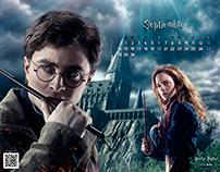 Fotomontaje - Calendario Harry Potter