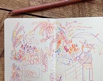 Tokyo Doodles