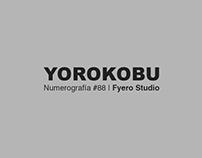 Numerografía. Yorokobu