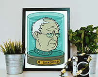 Bernie Sanders - Head in a Jar