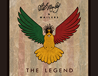 Branding concept- THE LEGEND- Bob Marley & The Wailers.