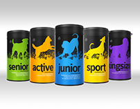 Packaging design Dog Health Supplements