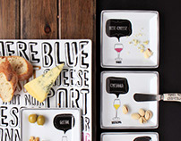 'Wine & Cheese Pairing' Leaflet - Product Photography