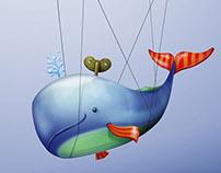 O Cachalote Suspenso  | Cachalote Suspended