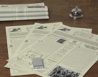 La Gazette du Festival - Vintage Newspaper
