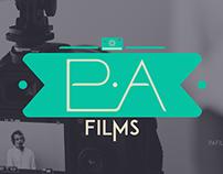P.A Films   Logotype