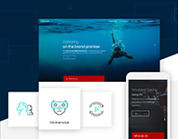 Website UI UX Redesign for AR VR Digital Company