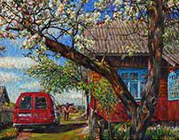 Spring in Yakivtsi