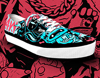 Garbage Can Critters X Vans Contest