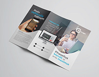 Multipurpose Trifold Flyer Template