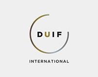 Duif International logo design & corporate identity