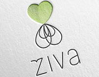 ŽIVA / LIFE lettuce brand and visual identity