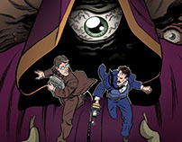 """""""Herald: Lovecraft & Tesla"""" #7 comic preview pages"""