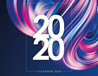Digital Art Calendar 2020 by Nopeidea® - Free Download