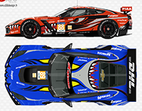 Corvette C7.R Montgomery Racing #88 #89