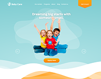 Baby Care Website