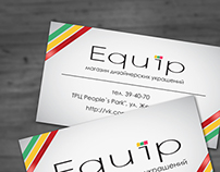 Equip project - jewelry shop