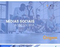 Mídia social assessoria