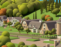 3d - New York State Farmers' Museum 3d Visitor Map