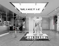 哈喽设计 | BEIKETIE服装店空间设计