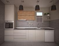 Kitchen design, Jakova Nenadovica street, Valjevo