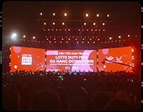 Lotte DutyFree Da Nang Music Concert