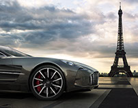Aston Martin One-77 / Paris