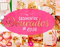 Casamentos Dourado e Rosa