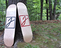 Handmade Custom Skate Graphics - Maple Decks