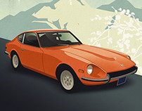 Retro Car Posters