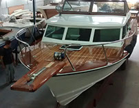 Wood deck on a boat !